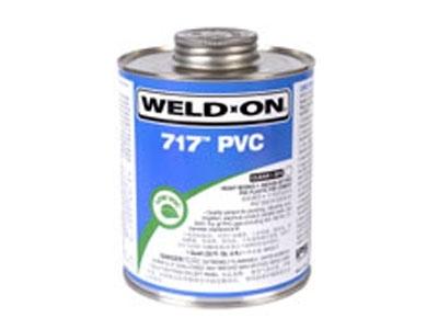 WELD-ON® 717™ 透明/灰色