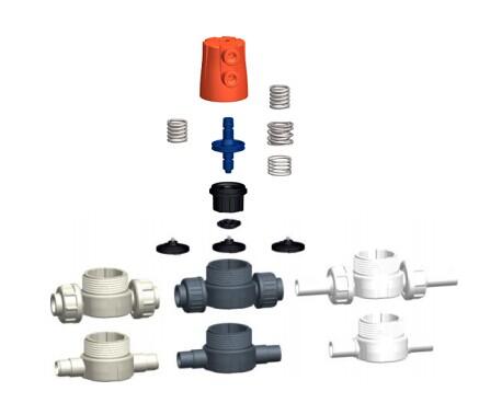 气动隔膜阀 +gf+604/605隔膜阀